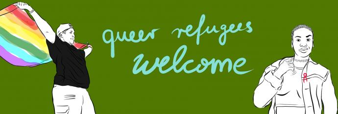 Queer refugees welcome